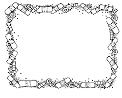 Border Black And White Black And White Border Clipart