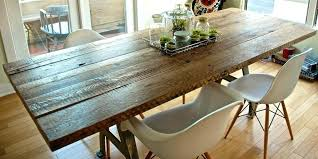 how to make a kitchen table know how you can build your own plank dining table