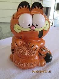 Garfield Cookie Jar Fascinating GARFIELD COOKIE JAR Mint 3232 PicClick