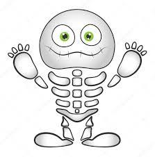 Halloween Kleurplaten Skelet
