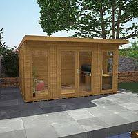 Small Picture 3m x 3m Waltons Insulated Corner Garden Room FREE Installation