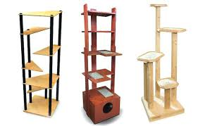 cool cat tree furniture. Banish The Ugly Beige Carpet Check Out These Cool Cat Trees Stylish Furniture Modern Tree
