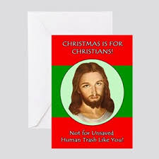 Christmas Birthday Cards Liberal Christmas Greeting Cards Cafepress
