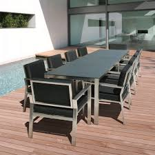 decorating lovely outdoor dining table for 10 12 nasa seater set rectangular a ss 1 outdoor