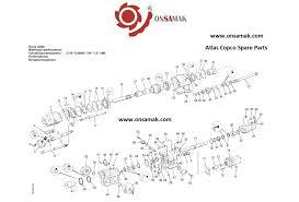 atlas copco cop1238 parts