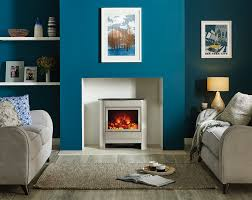 Electricstoves Steel Manhattan Electric Stoves Gazco Contemporary Stoves