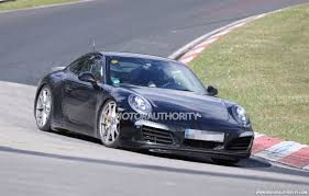 Porsche To Turbocharge 911 Carrera As Part Of Facelift: Report