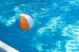 beach ball in pool. Download Beach Ball Floating In Pool Stock Image - Of Tropical, Swim: 107815029