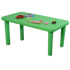 amazoncom costzon kids portable plastic table learn and play