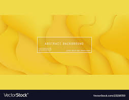 Layered Background Bright Yellow Gradient Layered Background With Vector Image