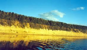 Реки и озёра России описание и подробные характеристики Река Сухона с очень высокими берегами