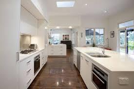 Galley Style Kitchen Kitchen Cabinets White Country Kitchen Homevillageco Modern