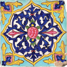 painted tile designs. The White Coated Tile Is Painted With Colors And Then Covered A Transparent Overglaze To Fix Protect Surface. Another Form Of Painting Uses Designs D