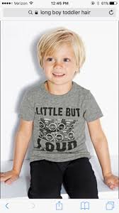 little boy hair cut