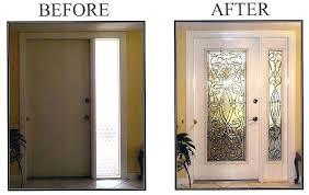 doors with glass insert door inserts interior bifold doors with glass inserts