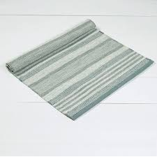 ombre stripe rug blue
