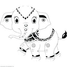 Baby Elephant Coloring Pages Best Of Baby Elephant Coloring Pages