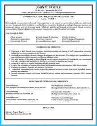 Athletic Resume Template Free Director Resume Funeral Sample Embalmer Home Samples Attendant 49