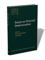 essays on nominal determination from morphology to discourse essays on nominal determination from morphology to discourse management edited by henrik hatildecedileg matildefrac14ller and alex klinge slcs 99