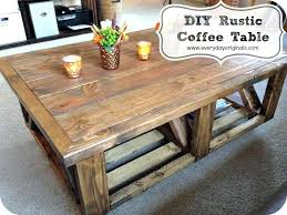 cool rustic storage coffee table remarkable preferred tables with regard to plans west elm assembly instructions
