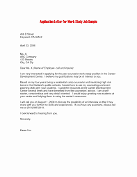 work study cover letters business letter format job request copy sample email cover letter