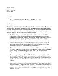 Bistrun General Resume Cover Letter How To Write A General Cover