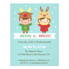 Christmas Birthday Party Invitations Christmas Kids Party Invitation Fun For Christmas Halloween