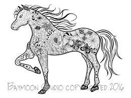 Steigerende Paarden Kleurplaten Kids N Fun De 24 Ausmalbilder Von