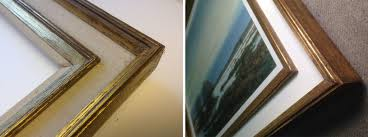 the frame before and after restoration