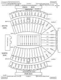 Kenan Stadium Seating Chart Seat Numbers 17 Surprising North Carolina Stadium Seating Chart