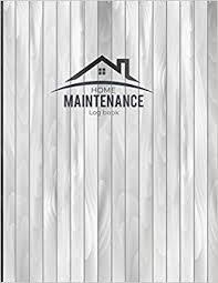 Home Maintenance Log Book Home Maintenance Schedule Organizer
