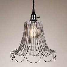 shabby chic pendant lighting. Image Is Loading Vintage-French-Country-Rustic-Wire-amp-Chain-Shabby- Shabby Chic Pendant Lighting