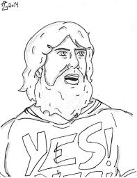 Small Picture Coloring Pages Wwe