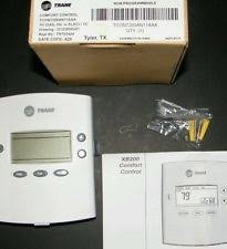 trane 824 thermostat. trane tcont200an11aaa heat/cool non-programmable digital 24v thermostat trane 824 thermostat
