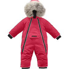 Canada Goose - Lamb Snowsuit - Infant Boys  - Red