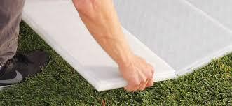 fastdeck 2 0 event flooring on grass