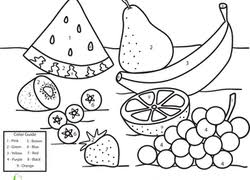 Small Picture Color by Number Coloring Pages Printables Educationcom