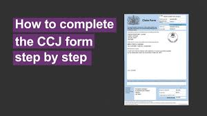 We did not find results for: How To Complete A Ccj County Court Judgment Form Youtube