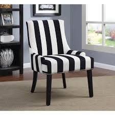 transitional navy and white accent chair striped accent chair h89