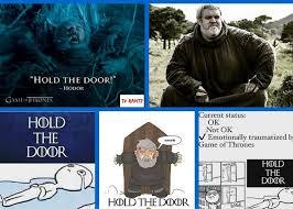 hodor hold the door memes