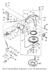 Yamaha outboard 30mhw erw ehw starter yamaha outboard motor ez go wiring diagram yamaha 6j8 wiring diagram