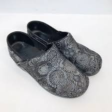 Sanita Shoe Size Conversion Chart Sanita Womens 39 Us 8 8 5 Gray Silver Floral Professional