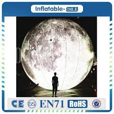 Hot Sale 2.5m Giant <b>Inflatable Moon</b>, <b>Inflatable Moon Ball</b>, <b>Moon</b> ...