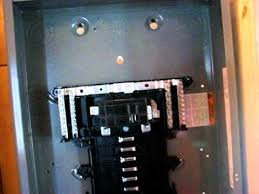 how to install a a sub panel how to install a 100a sub panel