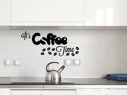 Wandtattoo Spruch Its Coffee Time Tocut