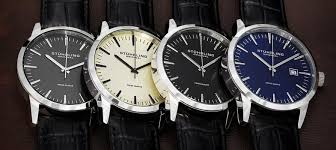 amazon com stuhrling original men s 555a 03 ascot ii analog swiss stuhrling original men s ascot ii swiss quartz strap set watches
