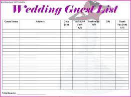 Excel Wedding Checklist Free Spreadsheet Awesome Planning Best Ideas