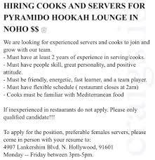 Pyramido Restaurant Hookah Lounge Home North Hollywood
