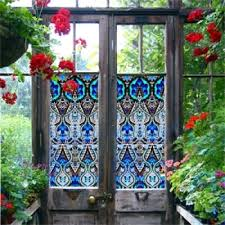 designer printed window