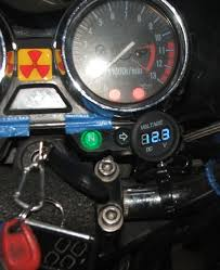 motorcycle voltmeter 8 steps pictures motorcycle voltmeter